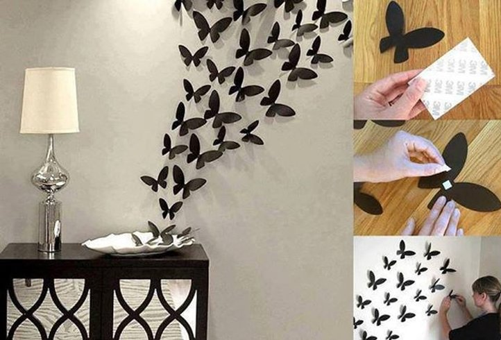 Paper Butterfly Wall Art