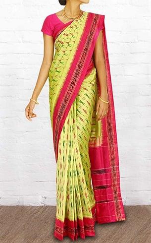 Pochampally silk sari