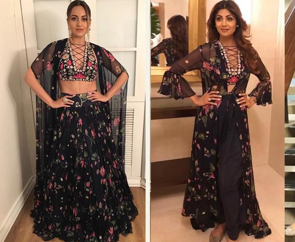 Sonakshi Sinha vs Shilpa Shetty
