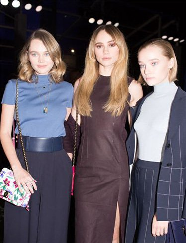 Suki Waterhouse, Immy Waterhouse and Maddi Waterhouse