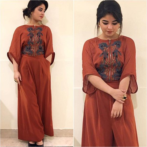Zaira Wasim Fashion