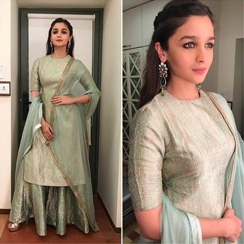 Alia Bhatt at Diwali Party