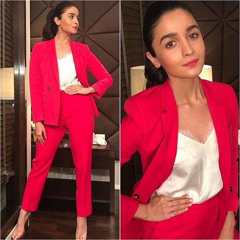 Alia Bhatt Pant Suit Style