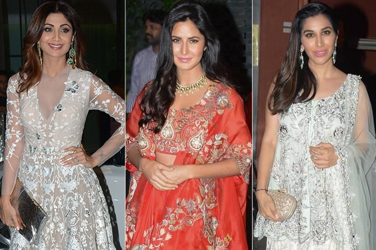 Celebs at Arpita Khan Diwali Bash