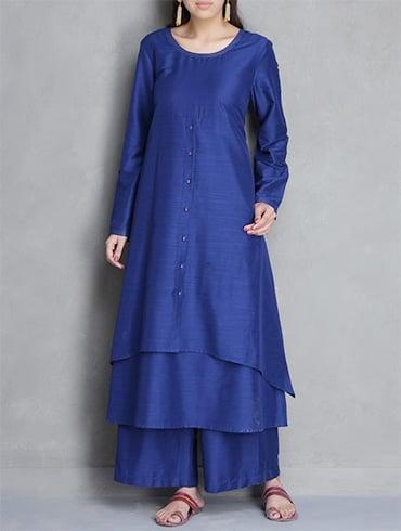 Asymmetrical Pakistani Designer Kurtis