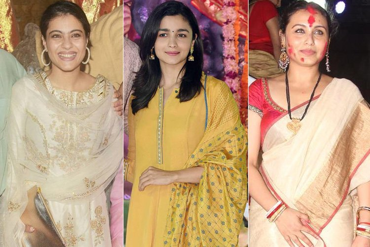 Bollywood Celebrities Durga Puja Celebrations