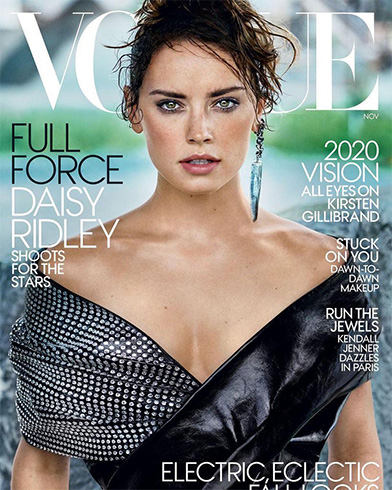 Daisy Ridley for Vogue US