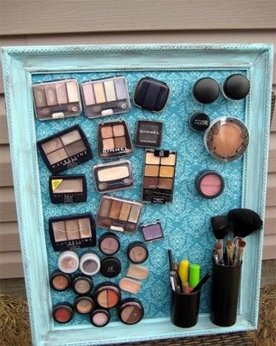Make Up Organizer DIY