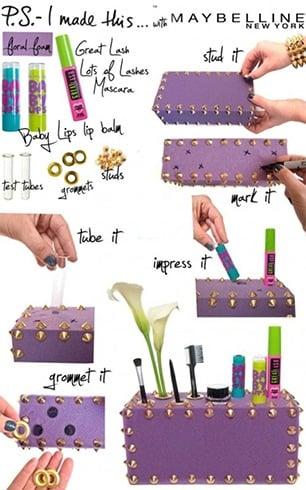 Creative And Funky Makeup Box
