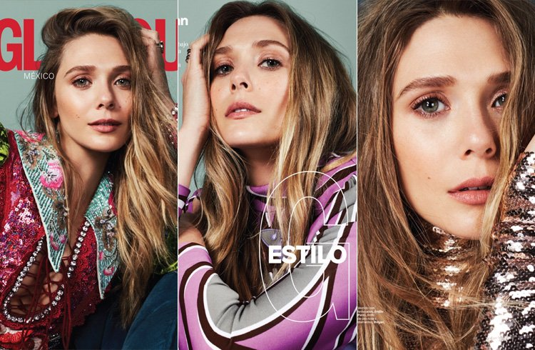 Elizabeth Olsen for Glamour Mexico