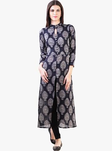 Front-slit Pakistani Designer Kurtis