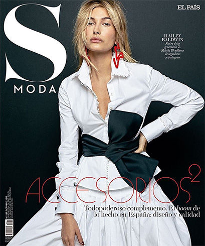 Hailey Baldwin for S Moda