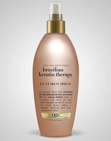 OGX Ever Straight Brazilian Keratin Therapy Flat Iron Spray