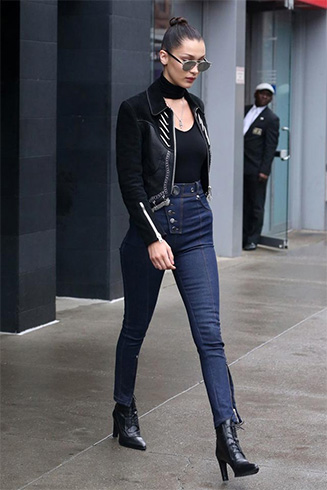 High Waisted Skinny Jeans for Women