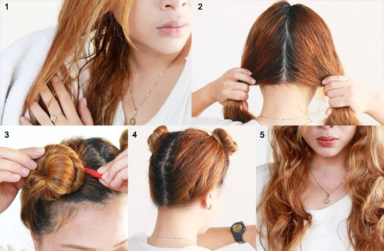 How To Make Curly Hair At Home