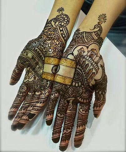 independence day mehndi designs