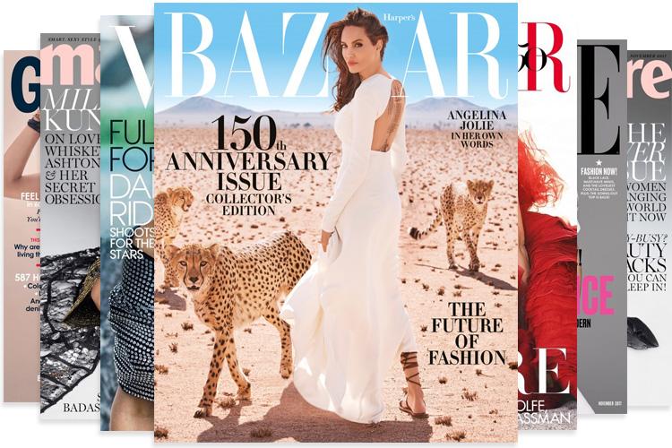 November 2017 International Magazine Covers