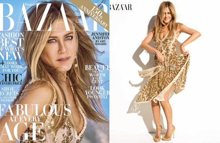Jennifer Aniston for Harper's Bazaar US
