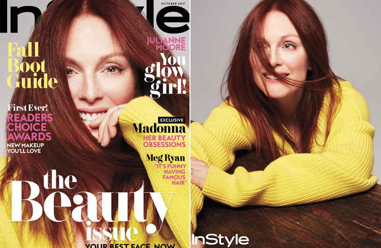 Julianne Moore for InStyle US