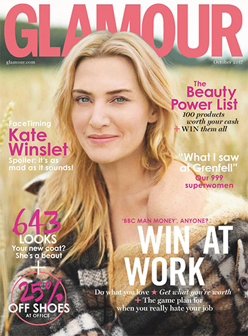 Kate Winslet for Glamour UK