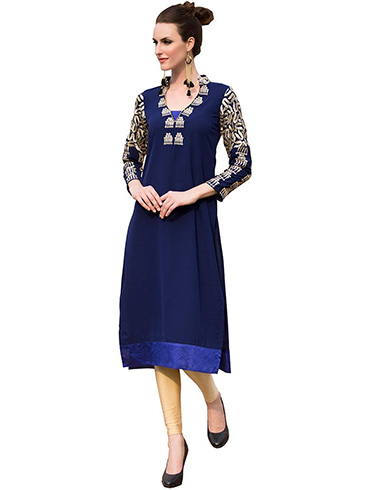 Pakistani Designer Kurtis with Different Cuts