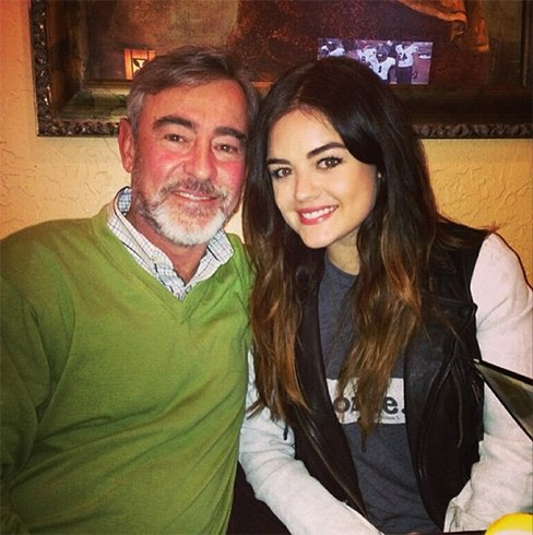 Lucy Hale Father
