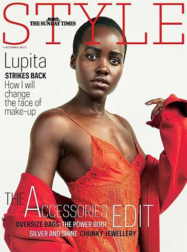 Lupita Nyong'o for The Sunday Times Style