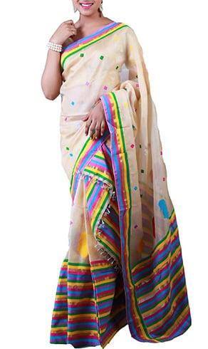 Mekhela Chadar Silk