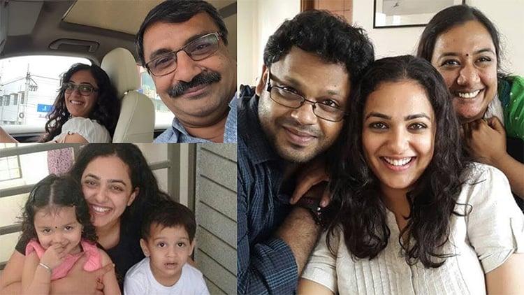 Nithya Menen Family