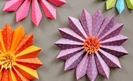 Paper craft ideas for decoration For house