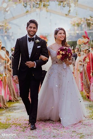 Samantha and Naga Chaitanya Christian Wedding