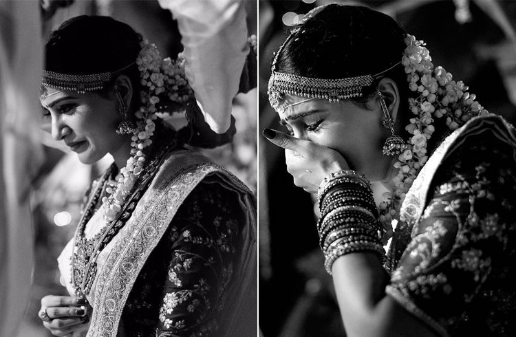 Samantha Emotions at Marriage