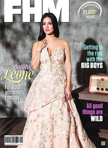 Sunny Leone on FHM