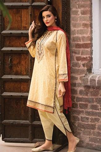 Tulip Cut Pakistani Designer Kurtis