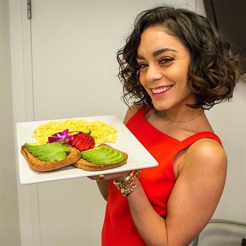 Vanessa Hudgens Diet