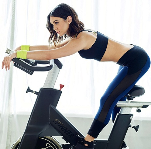 Vanessa Hudgens Workout
