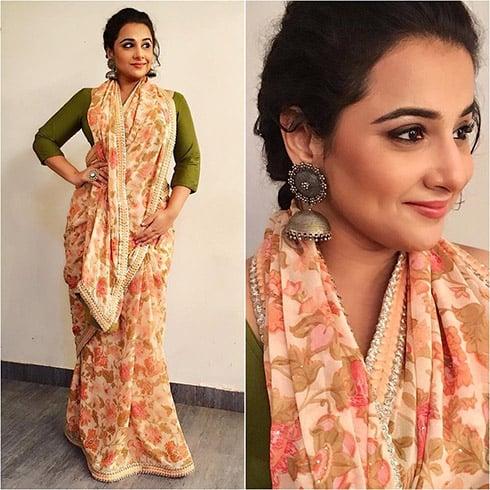 Vidya Balan Designer Wear