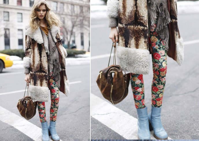 How To Wear Printed Leggings For Women
