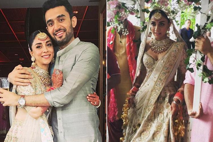 Amrita Puri Wedding Images