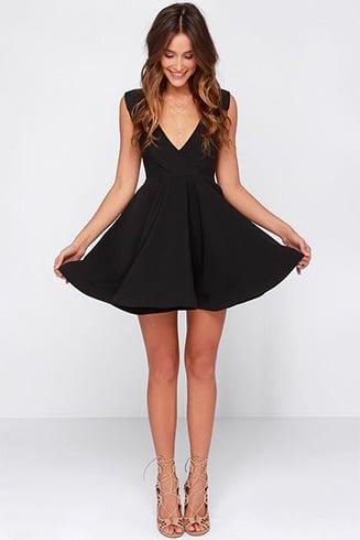 Black dresses for Beach Wedding