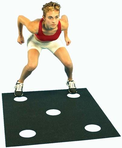 Dot Drill Box Jump Workout