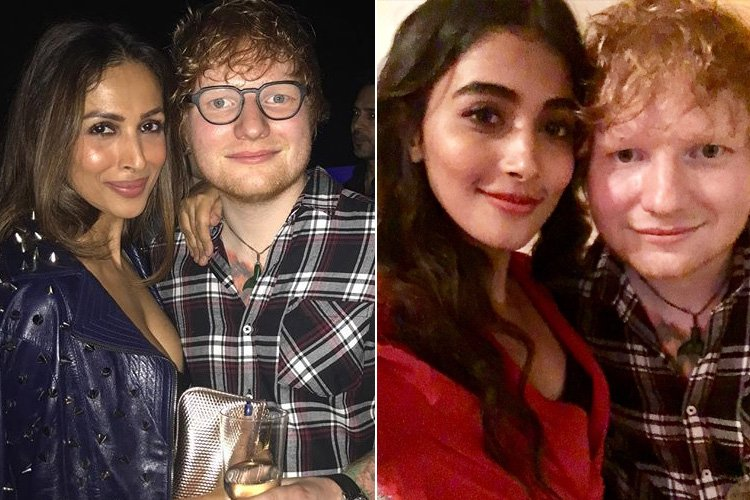 Ed Sheeran with Bollywood