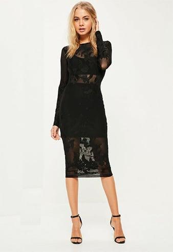 Evening Wedding Black dresses