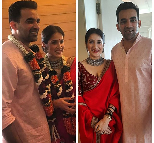 Sagarika Ghatge and Zaheer Khan Marriage
