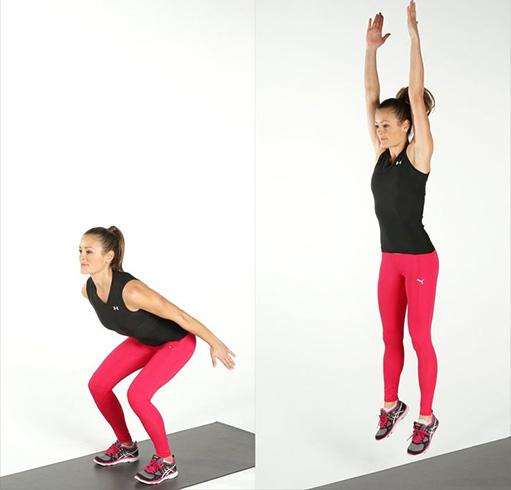 Squat Jump Tap