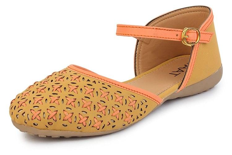 Taat Women's Napa Leather Fashion Belly Shoe