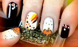 Thanksgiving Nails Design