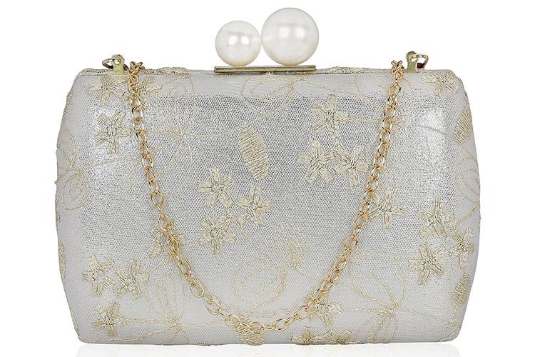 Wedding Box Clutch for Women