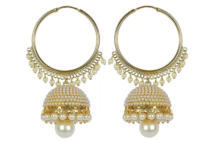 Youbella Jewellery Traditional Gold Plated Fancy Party Wear