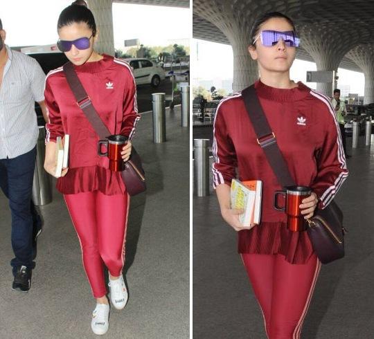 Alia Bhatt at Airport Fashion